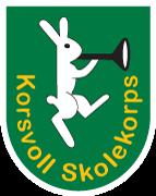 Logo for Korsvoll skolekorps